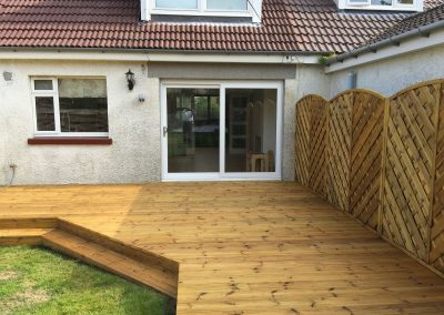 Empty Cladding Decking