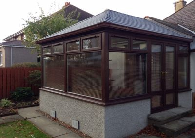 solid roof conservatory Edinburgh